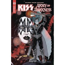 KISS AOD #3 (OF 5) CVR C HAESER