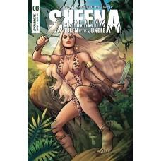SHEENA #8 CVR A SANAPO