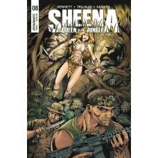 SHEENA #8 CVR B DUURSEMA