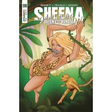 SHEENA #8 CVR C LAGACE
