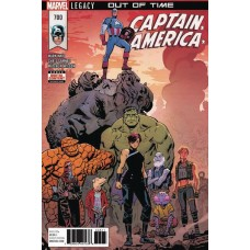 DF CAPTAIN AMERICA #700 MARK WAID GOLD SGN ED