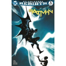 DF BATMAN REBIRTH #1 DF COVER PLUS 1 PACKAGE