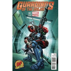 DF GUARDIANS OF GALAXY #1 DF COVER PLUS 1 PACKAGE