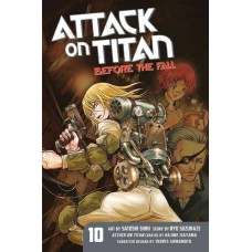ATTACK ON TITAN BEFORE THE FALL GN VOL 13 (MR)