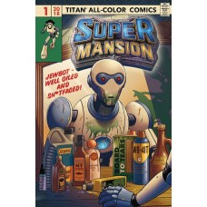 SUPERMANSION #1 (OF 4) CVR A ELPHICK (MR)