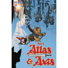 ATLAS AND AXIS #4 (OF 4) (MR)