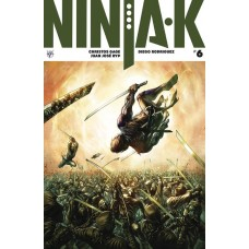 NINJA-K #6 (NEW ARC) CVR B QUAH