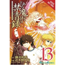 CERTAIN MAGICAL INDEX GN VOL 13