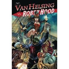 VAN HELSING VS ROBYN HOOD #4 (OF 4) CVR B VITORINO