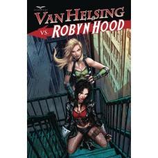 VAN HELSING VS ROBYN HOOD #4 (OF 4) CVR D  RIVEIRO