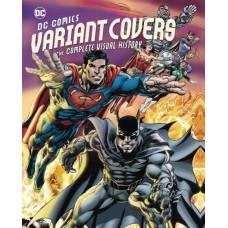 DC COMICS VARIANTIANT COVERS COMP VISUAL HISTORY