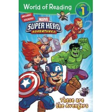 WORLD OF READING THESE ARE THE AVENGERS SC