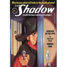 SHADOW DOUBLE NOVEL VOL 129 MOBSMEN ON SPOT & MURDER TRAIL