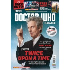 DOCTOR WHO MAGAZINE #525