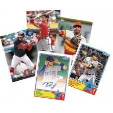 TOPPS 2018 BASEBALL SERIES 2 T/C JUMBO BOX
