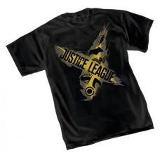 JUSTICE LEAGUE SYMBOLS T/S XL