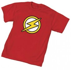 JUSTICE LEAGUE UNLTD FLASH SYMBOL T/S SM