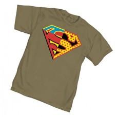SUPERMAN UNIVERSAL SYMBOL T/S XXL