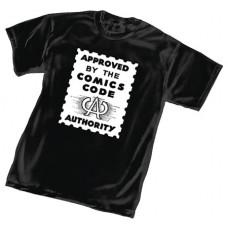 COMICS CODE AUTHORITY BLACK T/S SM