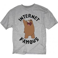 WE BARE BEARS INTERNET FAMOUS OXFORD T/S LG