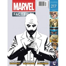 MARVEL FACT FILES #217