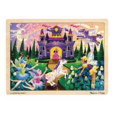 MELISSA & DOUG FAIRY FANTASY 48 PC JIGSAW PUZZLE