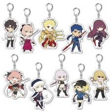 PIKURIRU FATE GRAND ORDER VOL 2 10PC TRADING KEYCHAIN DIS