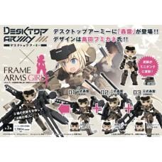 DESKTOP ARMY FRAME ARMS GIRL KT-321F 3PC DIS RAMPO SER
