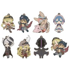 MADE IN ABYSS NIITENGOMU RUBBER STRAP 8PC DIS