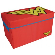 WONDER WOMAN COLLAPSIBLE TOY TRUNK