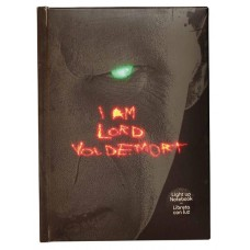 HARRY POTTER LORD VOLDEMORT LIGHT UP NOTEBOOK