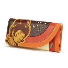 ST TOS UHURA RETRO SPACE LADIES WALLET