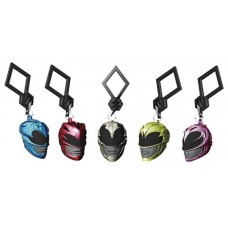 POWER RANGERS HELMET HANGERS 24PC BMB DS