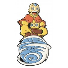 AVATAR LAST AIRBENDER AANG ON AIR SCOOTER LAPEL PIN