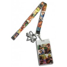 STREET FIGHTER CHARACTER LINE-UP LANYARD