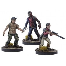 WALKING DEAD ALL OUT WAR MINI GAME LILLY BOOSTER