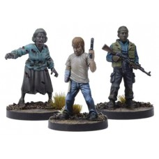 WALKING DEAD ALL OUT WAR MINI GAME RICK DISFIGURED BOOSTER