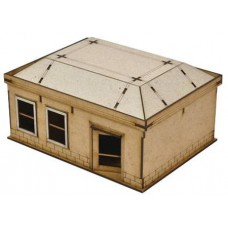 WALKING DEAD ALL OUT WAR MINI GAME WOODBURY HOUSE 4 KIT
