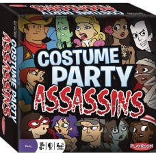 COSTUME PARTY ASSASSINS BOARD GAME