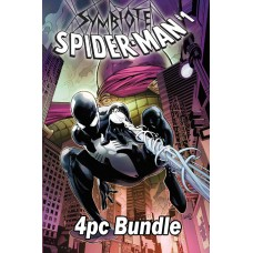 SYMBIOTE SPIDER-MAN #1 REG & VARIANT 4PC BUNDLE