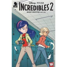 DISNEY INCREDIBLES 2 SECRET IDENTITIES #1 (OF 3) CVR A CLAUD