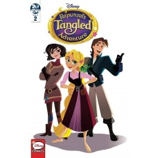 TANGLED THE SERIES HAIR & NOW #2 DISNEY