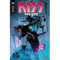 KISS END #1 CVR A SAYGER
