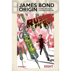 JAMES BOND ORIGIN #8 CVR A PANOSIAN