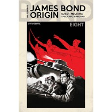 JAMES BOND ORIGIN #8 CVR E BOB Q