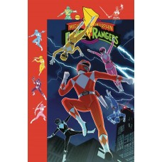 MIGHTY MORPHIN POWER RANGERS #38 PREORDER GIBSON VARIANT