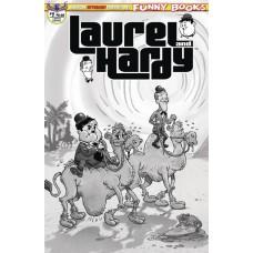 LAUREL & HARDY #1 LTD ED B&W CVR