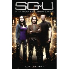STARGATE UNIVERSE TP VOL 01 LTD ED PHOTO CVR