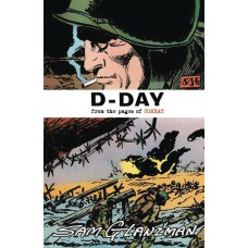 D DAY FROM PAGES OF COMBAT ONE SHOT GLANZMAN CVR