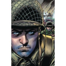 D DAY FROM PAGES OF COMBAT RUSS BRAUN CVR